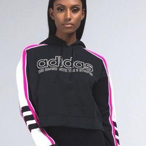 adidas Originals Legacy Cropped Hoodie Sweatshirt